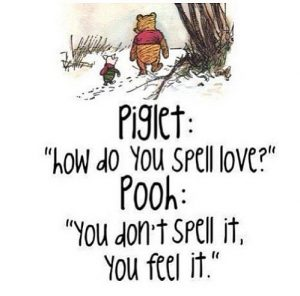 Winne The Pooh about love