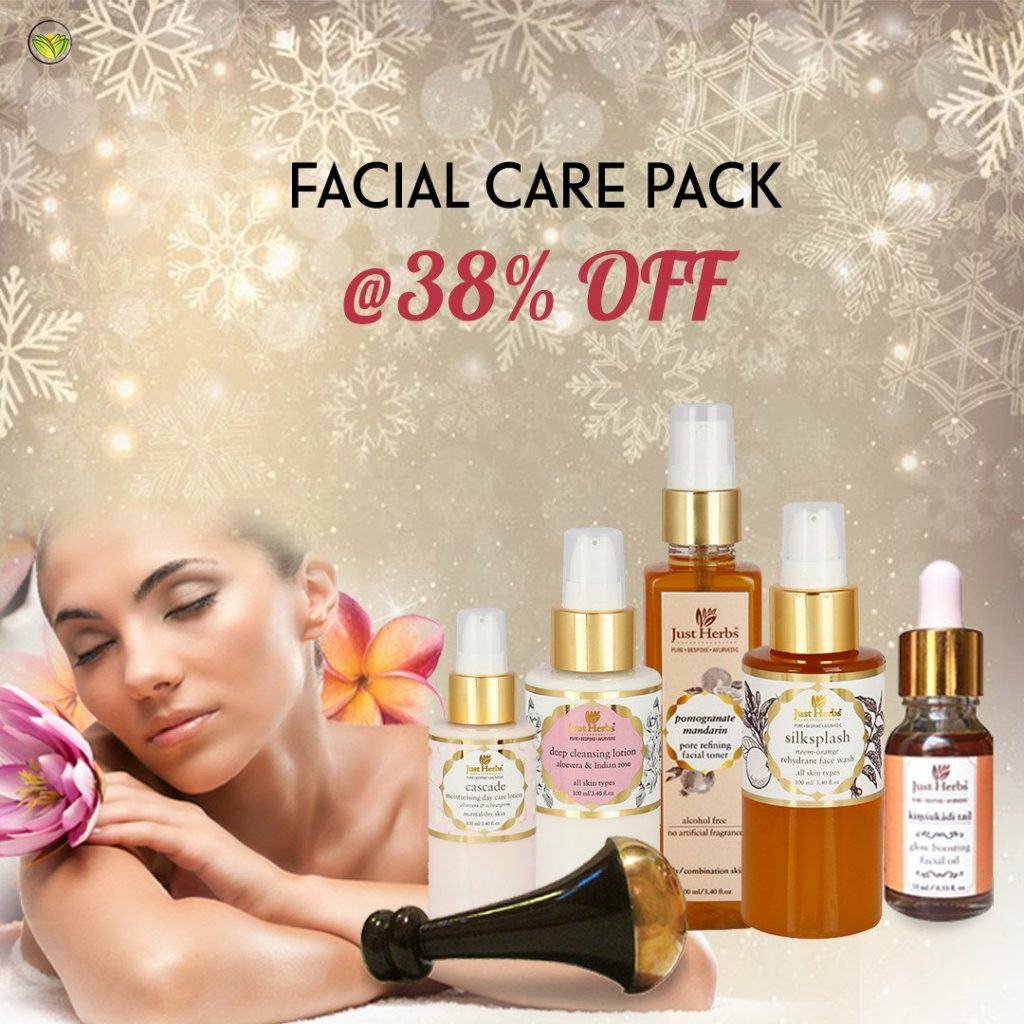 Ayurvedic facial care pack