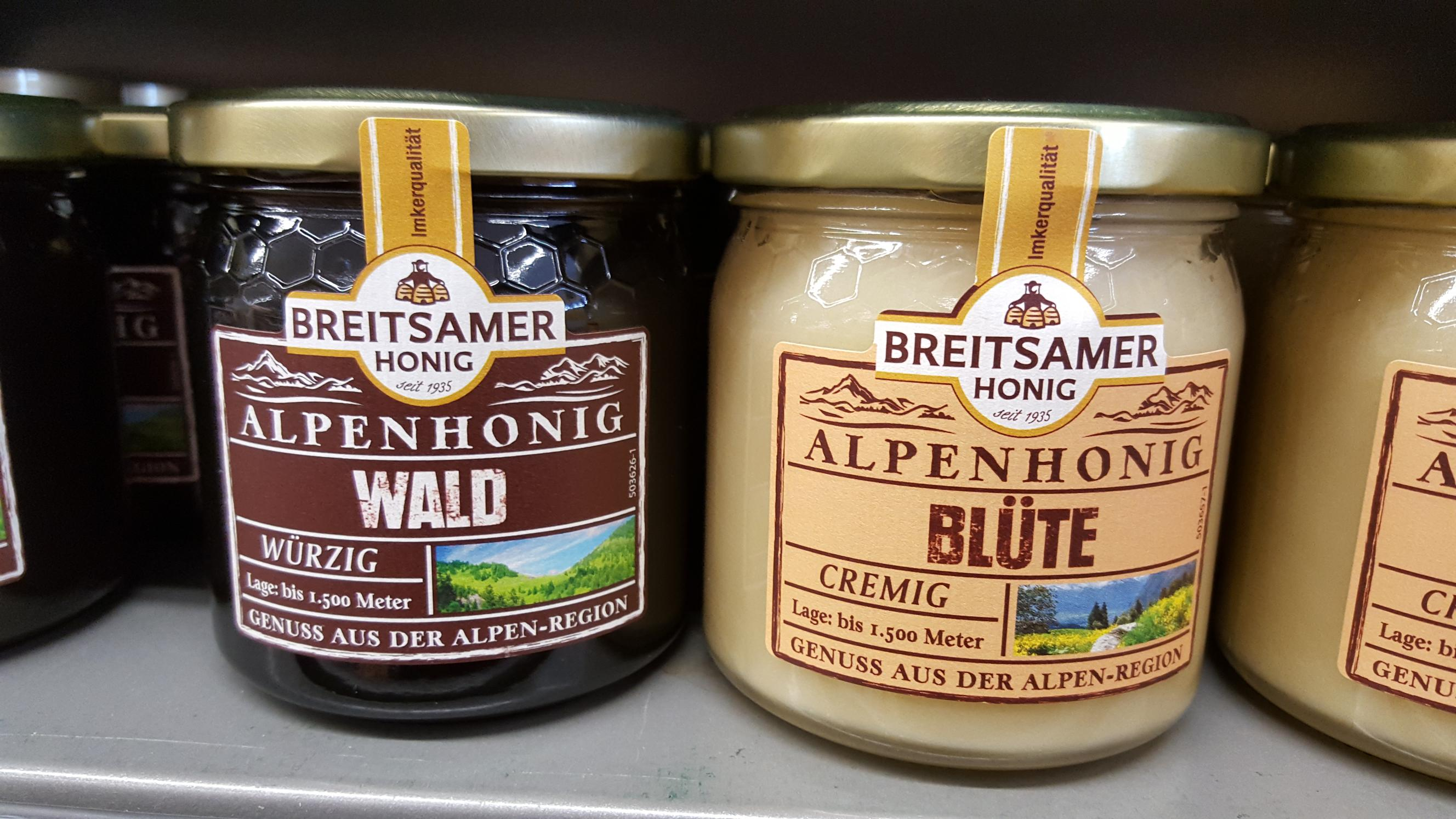 Alpine Honey Varieties