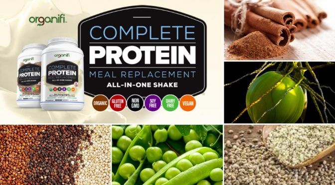 Organifi Complete Protein and Multivitamin Shake